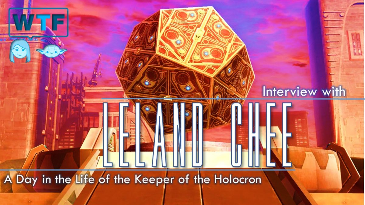 Interview with Leland Chee – A Day in the Life of the Holocron Keeper