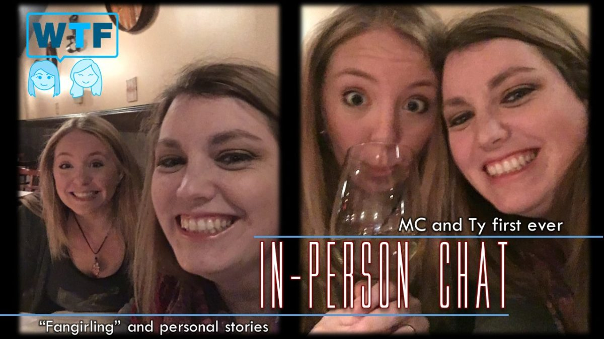Bonus Episode: Ty and MC In-person Chat – Fangirling & Personal Stories