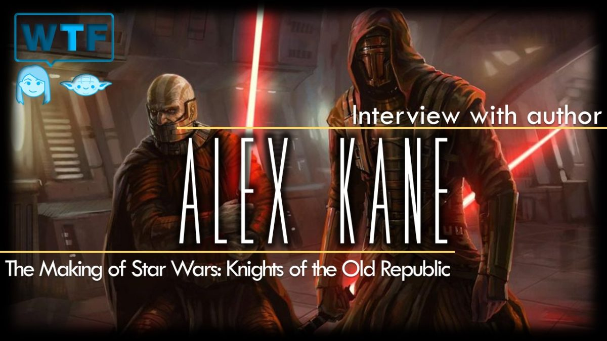 Star Wars: Knights of the Old Republic (The Making of with Alex Kane)