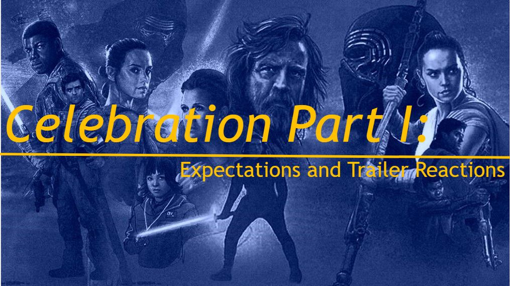 Celebration Part 1 – Expectations and Reactions