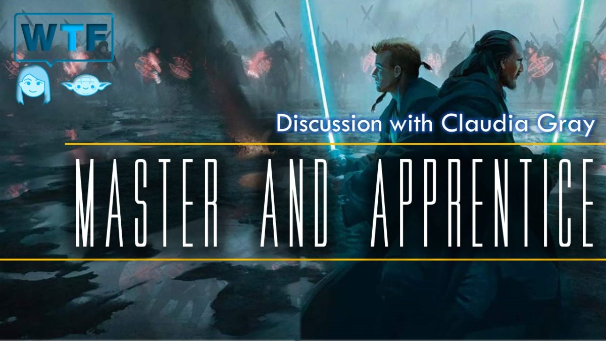 Master & Apprentice: Chat with Claudia Gray
